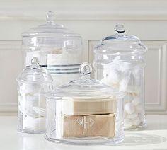 PB Classic Glass Apothecary Jars