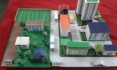 Rural & Urbana Diorama, Games, City, Crafts For Kids, Mockup, Study, School Projects, Activities, Plays