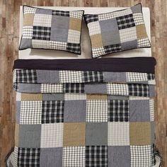 Ethan Patchwork Twin Quilt