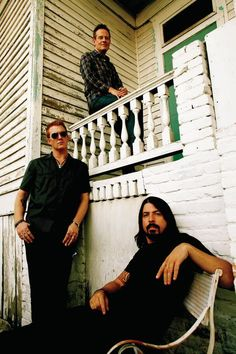 Them Crooked Vultures - John Paul Jones, Joshua Homme, and Dave Grohl
