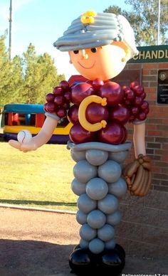 Balloon Baseball Player Column. #balloon #baseball #player #column #balloon #baseball #column #balloon #sports #column #decor