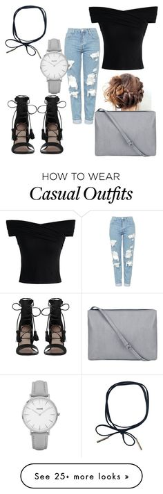 """""""Casual night out"""" by cat-griffiths on Polyvore featuring Zimmermann, Topshop and Chicwish"""