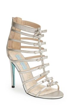 Blue by Betsey Johnson 'Tie' Satin Sandal (Women) available at #Nordstrom