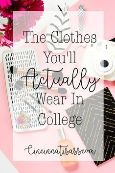 The Clothes You'll Actually Wear In College The Clothes Yo… - organisation College Packing Lists, College List, College Years, College Hacks, Freshman Year, College Dorm Rooms, Dorm Hacks, College Supply List, College Bucket List