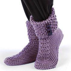 """钩针:""""地暖鞋"""" - maomao - 我随心动"""