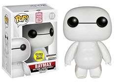 From the new Disney movie Big Hero it's robot Nurse Baymax! Funko has given Nurse Baymax the Glow-in-the-dark POP! Now you can bring the nursing-robot-turned-superhero Baymax home! Disney Pop, Film Disney, Disney Pixar, Dark Disney, The Big Hero, Hiro Big Hero 6, Big Hero 6 Baymax, Funk Pop, Funko Pop Marvel