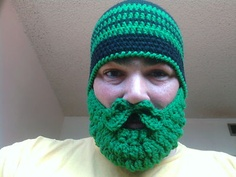 My brother makes these. Detachable Beard. Great for motorcycling