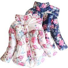 Baby Girls Toddlers Fleece Outwear Coat, $12