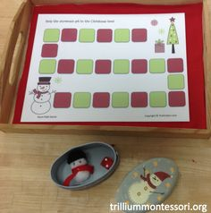 Snowman Board Game