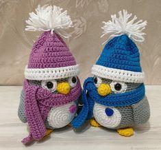 Купить Пингвин вязаный - вязаные игрушки, ручная работа, handmade, игрушки, пингвины, пингвин