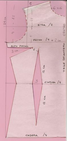 Patrón y costura : traje de flamenca.Tema 31