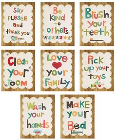 Good Manners Wall Cards Nursery Wall Decor Gender Neutral Kids Art Prints Childrens Wall Art Nursery Art Baby Shower Gift Inspirational Artwork for Kids -- More info could be found at the image url. (This is an affiliate link) Kids Artwork, Art Wall Kids, Art For Kids, Kid Art, Good Manners, Childrens Wall Art, Inspirational Artwork, Kids Decor, Home Decor