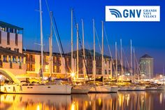 #Port of #Genoa: the major #Italian #seaport on the #MediterraneanSea. Discover #GNV routes from/to #Genoa&#Liguria here: www.gnv.it/en