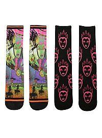 HOTTOPIC.COM - Disney Snow White Evil Queen Crew Socks 2 Pair