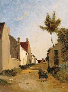 1865 Village Street - Frederic Bazille