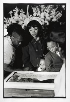Dr. King's Children Viewing his Body for First Time at the Funeral, April, 1968 | The Martin Luther King Jr. Center for Nonviolent Social Change