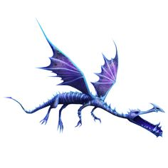 Shivertooth, a dragon that appears in the game Rise of Berk