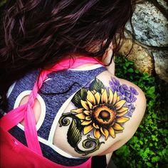 25 Sunflower Tattoo to Brighten Your Day