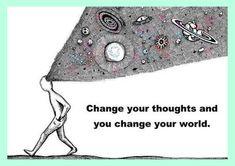 QUOTE: Verander je gedachten en je verandert je wereld | Lisanneleeft.nl