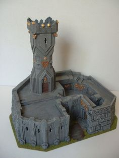 Dwarf Watchtower guarding a mine entrance. Occasionally I do custom work. If you have an idea for a project that you would really like to see, drop me a line. If I have time, I may be able to make ...