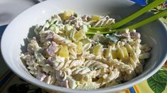 Sommersalat for varme dager Potato Salad, Salads, Food And Drink, Rice, Lunch, Vegan, Dinner, Cooking, Ethnic Recipes