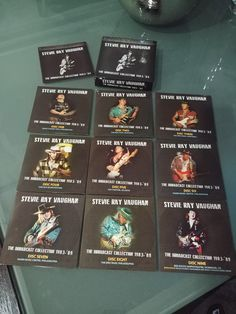 SRV - The Broadcast Collection 1983 - 89 - 9CD BoxSet