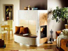 Spectacular Kachelofen von Albiker Seitliche Flamme