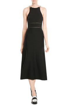 No 6 black dress beige
