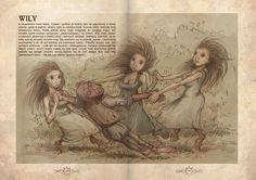 Mroczna strona Słowiańszczyzny Mythological Creatures, Fantasy Creatures, Mythical Creatures, World Mythology, Celtic Mythology, Supernatural Crafts, Legendary Monsters, Creepy Drawings, Celtic Symbols