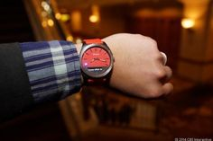 Brian Bennett checks out the Martian Notifier Smartwatch - At CES 2014, hype is all about wearable (pictures). Here's another hot category of CES, Smartwatches, Fitness Trackers, and Google Glass-like devices, all promising to make tech an everyday thing you don't need to worry about.