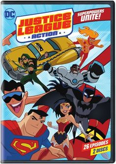 Justice League Action: Superpowers Unite Press Release and Review YOUR FAVORITE DC SUPER HEROES UNITE FOR NON-STOP THRILLS - JUSTICE LEAGUE ACTION: SEASON 1 PART 1 ON DVD OCTOBER 10, 2017 #DVD #Superman #WonderWoman #Batman #Justice #JusticeLeague #WBHE #