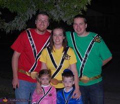 Power Rangers - 2013 Halloween Costume Contest via @costumeworks