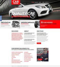 Car Repair WordPress Theme New Screenshots BIG