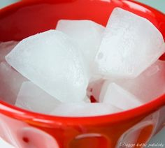 Coconut water ice cubes to add to smoothies.  Awesome way to get nutrients and electrolytes without watering down the flavor.  Great idea!