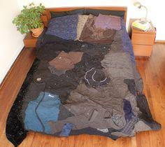 Old Clothes Quilt Eco artware