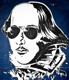 This is what Shakespeare would look like with sunglasses