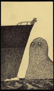 The wonderful work of illustrator John Kenn Mortensen.