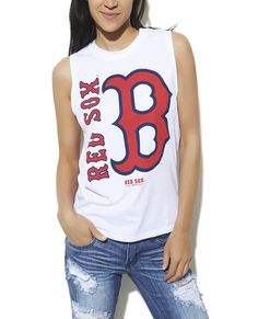 Boston Red Sox Tank from Wet Seal