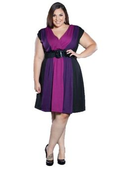 Sealed With A Kiss Designs Plus Size Connie Sweater Dress for only $49.99 You save: $9.01 (15%)
