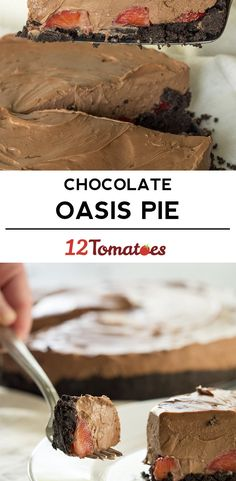 Creamy Chocolate Oasis Pie