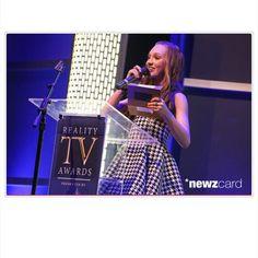 Maddie presenting