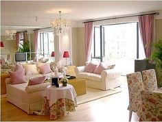 French+Country+decorating | 15 Comfortable Country Style Living Room Design & Decor > Living Room ...
