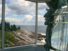 Atop Pemaquid Point Lighthouse by ~LindaGillottiDesigns