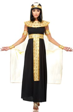 Queen of the Nile Adult Costume - Egyptian Costumes More