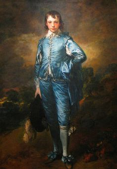The Blue Boy is a full-length portrait in oil by Thomas Gainsborough, now in the Huntington Library, San Marino, Ca. The Blue Boy By Thomas Gainsborough Thomas Gainsborough, Blue Boy Painting, Basic Painting, Large Painting, The Blue Boy, Jean Antoine Watteau, John Everett Millais, Joshua Reynolds, Huntington Library
