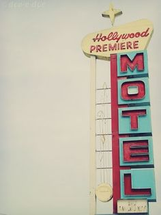 cartel luminoso motel neon sign viajar travel miraquechulo