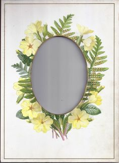 Lovely Mat Frame from Victorian Photo Album, Cabinet Photo Size Opening