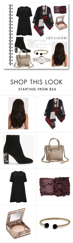 """Untitled #27"" by simonacnn ❤ liked on Polyvore featuring Burberry, Rebecca Minkoff, Manon Baptiste, Kevyn Aucoin, Urban Decay, David Yurman and Christian Dior"