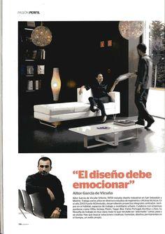 Entrevista en la revista Casa Viva