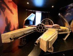 spaceship bed :)